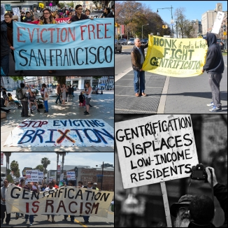 Gentrification protests