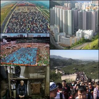 China crowded